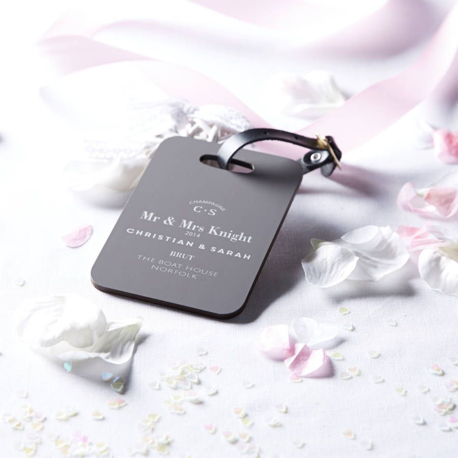 Luggage tag | Indian wedding cards, Indian wedding card, wedding cards, wedding invitations, Indian wedding invitations