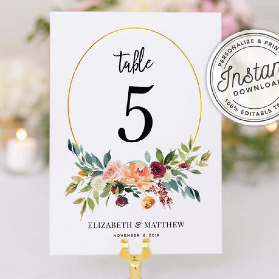 Floral  Wedding Seating Cards, Printable Tent Cards, Digital  | Indian wedding cards, Indian wedding card, wedding cards, wedding invitations, Indian wedding invitations
