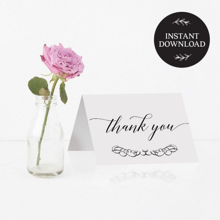 Printable Thank You Card | Indian wedding cards, Indian wedding card, wedding cards, wedding invitations, Indian wedding invitations