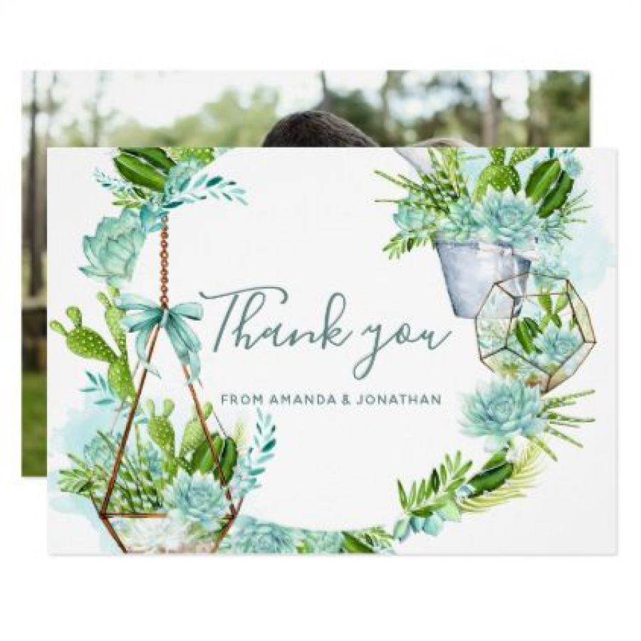 Floral Thank You Card | Indian wedding cards, Indian wedding card, wedding cards, wedding invitations, Indian wedding invitations