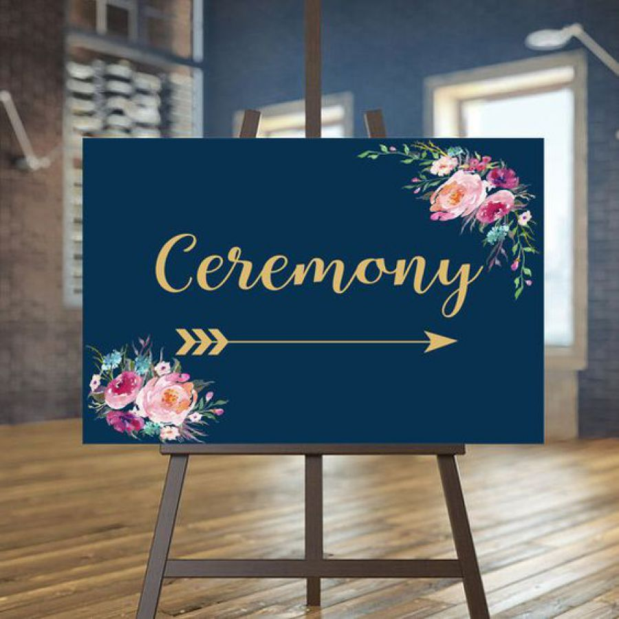 Printable Wedding Ceremony sign, Minimalist Directional sign, Reception sign, Minimal Directional si | Indian wedding cards, Indian wedding card, wedding cards, wedding invitations, Indian wedding invitations