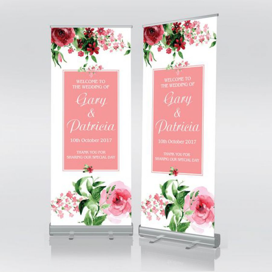 Floral Wedding Roll Up Banner | Indian wedding cards, Indian wedding card, wedding cards, wedding invitations, Indian wedding invitations