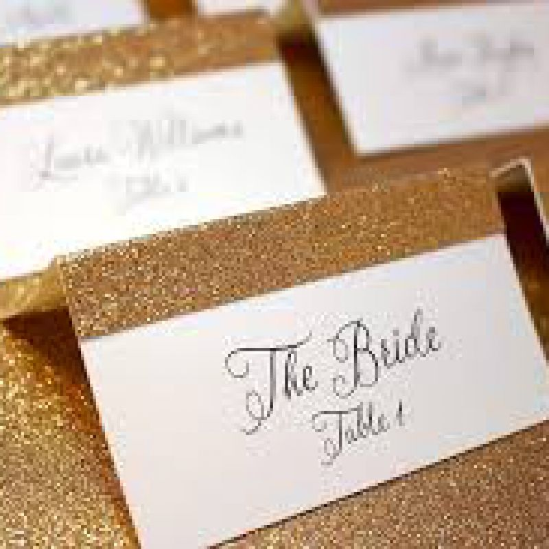 Calligraphy Table Numbers, Elegant Table Decor, Gold Wedding Table, Tented Table Number, Tent Card,
