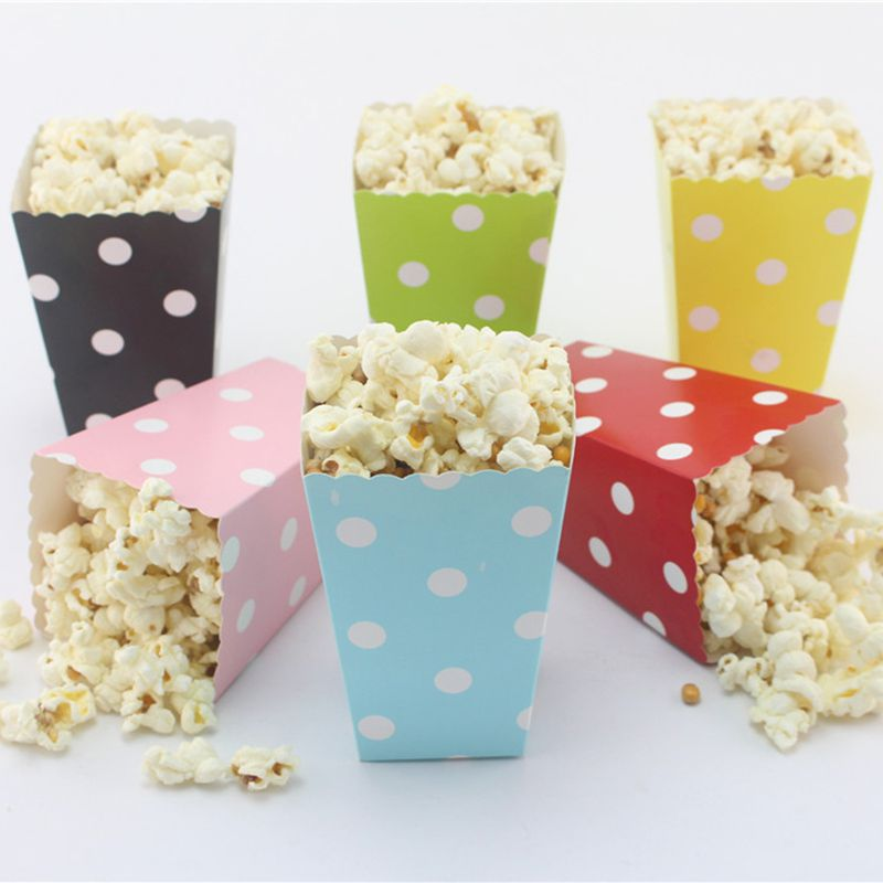 Personalized Mini Popcorn Boxes for Birthdays
