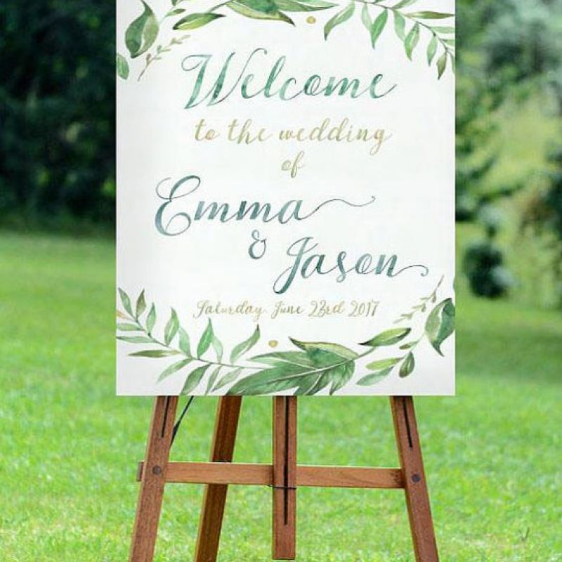 Floral Welcome Design