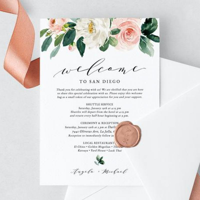 Rosy Welcome Design