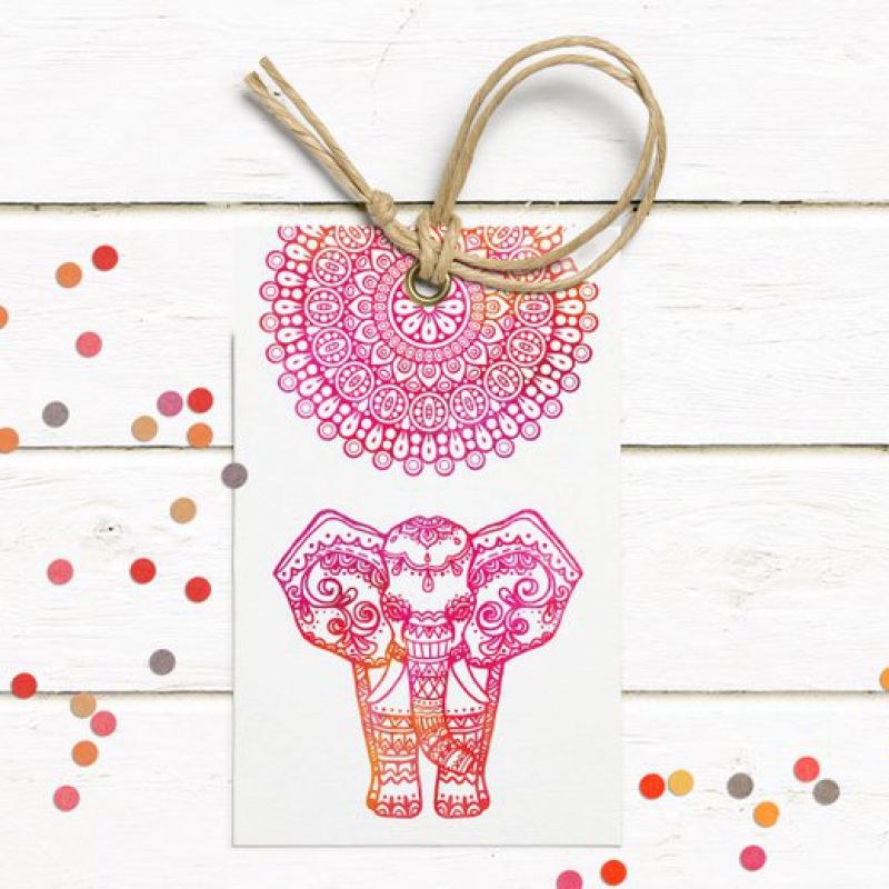 India Elephant Bridal Shower Invitation | Custom Shower Invite | Editable Bridal Shower Invitation |