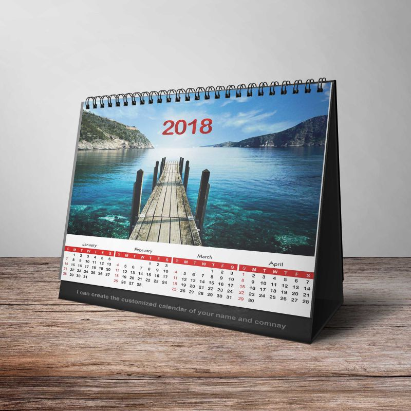 Customized Calendar For Your Company